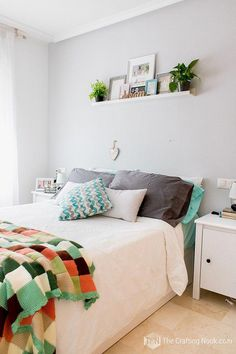 12 exciting shelving over bed images bedrooms bedroom decor head bed rh pinterest com