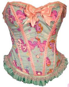 My Little Pony corset