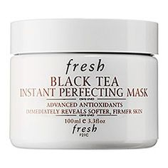 My favorite product BY FAR...Fresh - Black Tea Instant Perfecting Mask  #sephora