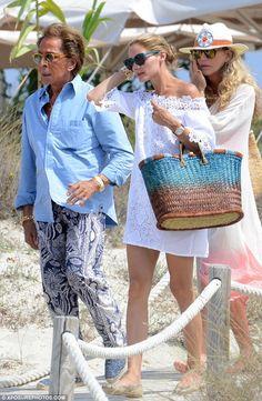 Valentino and Olivia in Ibiza - The Olivia Palermo Lookbook