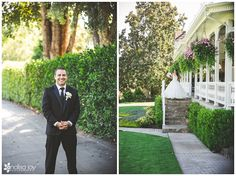 Wedding: AJ & Marisa// The Grand Tradition Estate, Fallbrook, CA » Analisa Joy Photography // first look