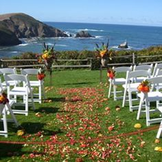 The Perfect Coastal Wedding Overlooking Mendocino Headlands At Albion River Inn