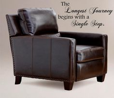 Large Decal The longest journey begins by VinylDesignCreations, $18.99