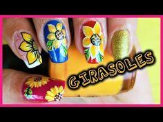 Dibujar FÁCIL Flores en tus Uñas - 4 formas de hacer flores en tus uñas - YouTube Manicure, Nails, Nail Designs, Nail Art, Youtube, Beauty, Designed Nails, Pink, Polish Nails