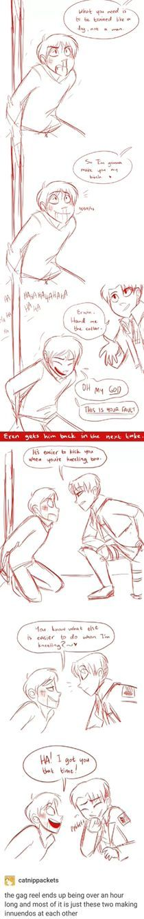 """Erwin hand me the collar"" I DIED AT THAT!!!"