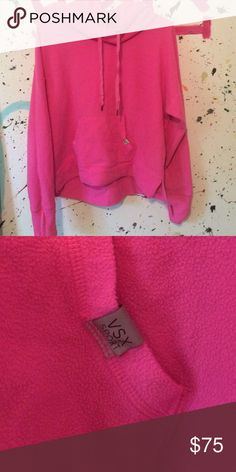 VSX sport this jacket is in very good condition, it has been worn and washed a few times // 100% polyester // please ask any questions you may have before purchasing // 29 days until this listing is deleted; feel free to make an offer; TV: $60 Victoria's Secret Sweaters
