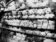kawaii-i: rilakkuma store tokyo - by y o s h i Rilakkuma Plush, Kawaii Store, Japanese Characters, Cute Japanese, Japanese Culture, Toy Store, Sanrio, Plushies, Gossip Girl