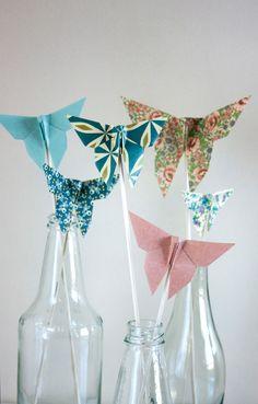 DIY: sommerfugler til vårens festligheter