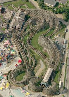 Lightning Racer, Hersheypark, Hershey, PA, USA
