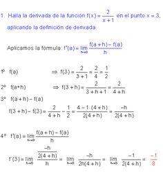 En matemáticas , la derivada de una función es una medida de la ...