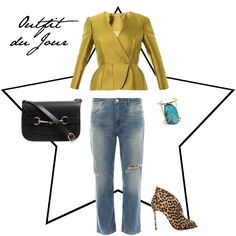 Outfit du Jour: Playing dress-up with boyfriend jeans