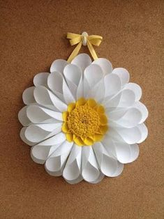 Diy Crafts - -Outstanding mason jar info are readily available on our internet site. Giant Paper Flowers, Diy Flowers, Diy Paper, Paper Crafts, Paper Sunflowers, Fleurs Diy, Paper Flower Backdrop, Paper Flower Tutorial, Flower Template