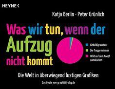 Was wir tun, wenn der Aufzug nicht kommt: Die Welt in überwiegend lustigen Grafiken: AmazonSmile: Katja Berlin, Peter Grünlich: Bücher