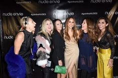 Nude Envie launch party with Isabel Madison and Brooke Burke.