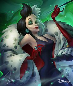 Walt Disney - Cruella by Sang Yang