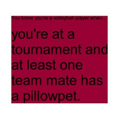 You know you're a volleyball player when... ❤ liked on Polyvore