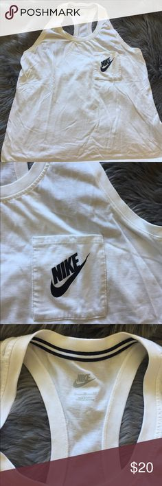 Nike Tank Racerback. Like new. I do not trade. Nike Tops Tank Tops
