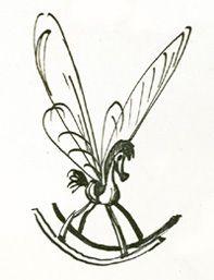 Bill Peet's version of a rocking horsefly