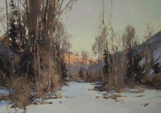 I want to be Jill Carver when I grow up. Sunrise, Moonset by Jill Carver  ~ 21 x 30