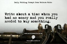 Writing Prompt from Writers Write
