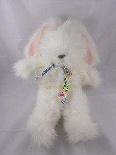 """America Wego Honey Bunny White Rabbit Plush 16.5"""" #E1029 #AmericaWego"""
