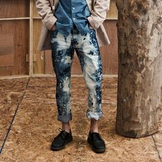 Are we surprised that the designers of these jeans are also graffiti artists? OBSESSED!