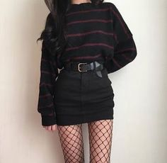 Awesome Pretty Fashion Outfits for Women The Forbidden Truth Regarding Awesome Pretty Fashion Outfits for Women Revealed by an Old Pro Regardless of what's your body … - Trendy Fashion Grunge Punk Outfits Ideas Grunge fashion Grunge Style Outfits, Mode Outfits, Fall Outfits, Fashion Outfits, Fashion Ideas, Summer Outfits, Skirt Fashion, Cute Punk Outfits, Fashion Clothes