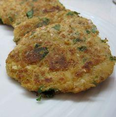 Hambúrgueres de Grão, receita vegetariana