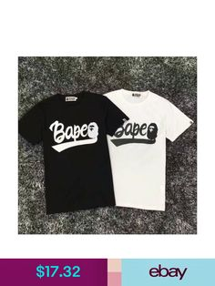 5bfd3a91 BAPE T-Shirts #ebay #Clothing, Shoes & Accessories Casual T Shirts