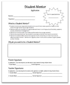 The Inspired Counselor Blog: Student Mentor Program http://www.theinspiredcounselor.blogspot.com/