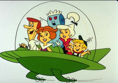 The Jetsons, living in a utopian future.