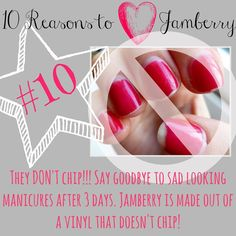 10 Reasons to love Jamberry