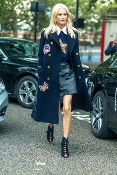 Poppy Delevingne #fashion #models #topmodels #nyc #streetstyle