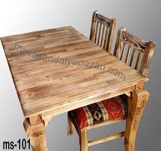 Ahşap masa sandalye takımı olarak, ahşap masa ölçüleri. 70x120 cm. 4 adet ahşap sandalye. İstenilen renk ve ebatlarda siparişleriniz tasarlanır. Ürünlerimiz kendi imalatımızdır. Ürün stok ve diğer bilgileri için bizimle irtibata geçebilirsiniz. Fiyatlarımıza KDV dahil değildir. Teslimat mağaza ve atölyemizdendir. Nakliye ve kargo alıcıya aittir. 0 (212) 553 11 20 - 0 (538) 774 65 58