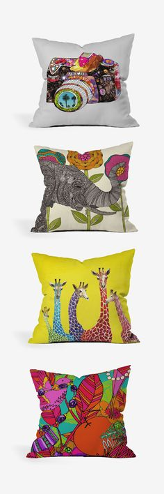 Pillows with personality. #HomeDecor #Kohls