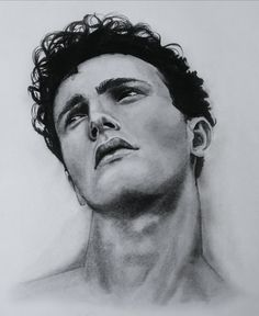 graphite drawing by imborrero man looking up detailed realistic artwork of the attractive man david michealangelos Man Looking Up, Graphite Drawings, Attractive Men, Men Looks, My Arts, David, Photo And Video, Artwork, Instagram