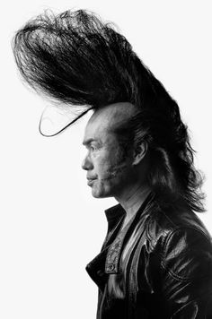 American photographer Denny Renshaw spent 5 years photographing the Tokyo Roller-zoku subculture, which is influenced by the Rockabilly era. Modern Pompadour, Pompadour Fade, Tokyo, Hair Trends 2015, Rockabilly Hair, Rockabilly Style, Roller, Black Shadow, Portraits