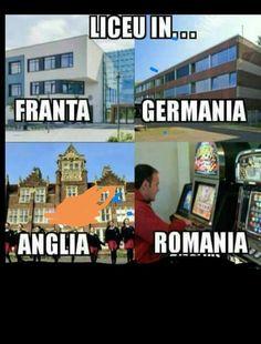 Romania, Funny Things, Funny Memes, Lol, Humor, Comics, School, Funny Shit, Ouat Funny Memes
