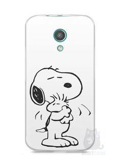 Capa Moto G2 Snoopy #2 - SmartCases - Acessórios para celulares e tablets :)