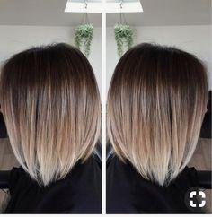 Brunette to Blonde Balayage hair