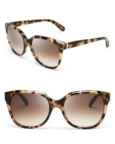 kate spade new york Bayleigh Oversized Sunglasses