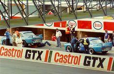 "Restoration of the Group 2 ""BMW Belgium"" CSL - Zolder 1974"