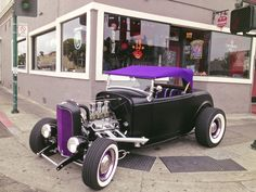 Hot Rod  Ford Roadster traille