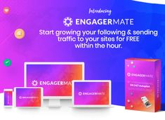 Engagermate Review And OTO Review -  Engagermate Is The Worlds Only Tool That Will Open The Flood Gates To Organic Traffic & Will Have Your Account Engaging 24/7   #engagermate #instagram #instagrammarketim #traffic #socialmarketing #engagermatereview #socialmedia #content #contentmarketing #marketing #business #onlinemarketing #lukemaguire