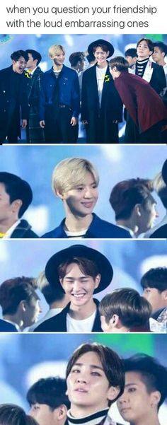 Jonghyun and Minho be like Eyyyyyyyyyy while Taemin Judges them to death and Ravi looking so done.