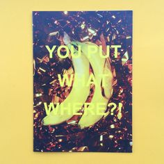 Image of You Put What Where? Zine