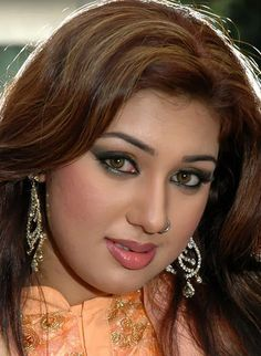 Apu Bishwas. Popular actress in Bangladesh.