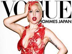 Porter 2 fois la même robe... une exclu Gaga pour le ELLE Japan