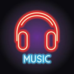 Music And Live Music Logo With Neon Effect Vector Illustration Vector and PNG Iphone Logo, Iphone Icon, Logo Youtube, Logo Marketing, Whatsapp Logo, Music Clipart, Logo Instagram, Neon Logo, Dj Logo
