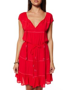 Casual Dresses | ... WOMENS DRESSES CASUAL DRESSES TEKKE DRESS BY TIGERLILY IN TANGO RED